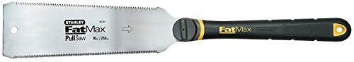 Stanley FatMax Japanse zaag (fijn en grof 8 & 17 tanden/inch, JetCut, ergonomische bi-materiaal handgreep) 0-20-501