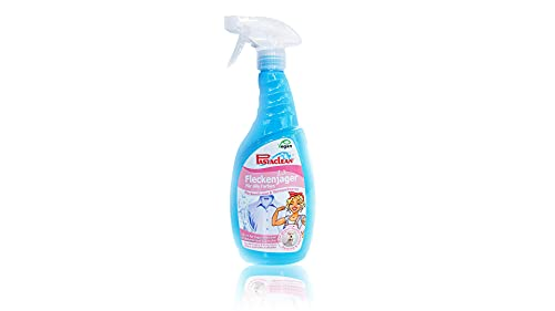 Pastaclean Fleckenjäger Vorwaschspray 750ml - ideal zur Vorbehandlung und Fleckentfernung von Flecken aus empfindlichen Textilien und Wäschestücken - Vegan + 1 Mikrofaser Flauschtuch