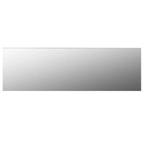 vidaXL Specchio Senza Cornice 140x40 cm in Vetro