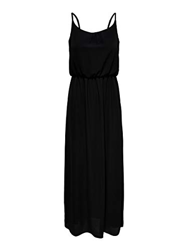 ONLY Damen Maxikleid Ärmelloses 36Black