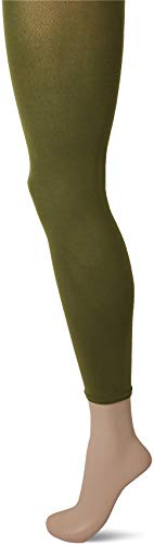 FALKE Damen Cotton Touch Strumpfhose, grün (forest 7657), M (DE 40-42)