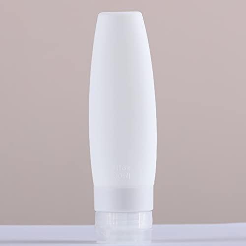 Dispensador de botellas de condimentos 60/90 ml botella de silicona de silicona Viaje vacío Portátil Portátil PRENSA PARA LOTION SHAMPOO COSMÉTICA SQUIENSE CONTENEDORES HERRAMIENTAS para cocina de res