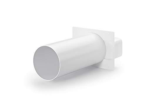 Naber flow 150 Maueranschlussstutzen 2, weiß