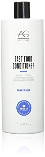 AG Hair Moisture Fast Food Leave On Conditioner, 33.8 Fl Oz