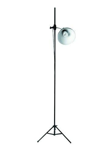 Lampe Studio Artiste + Trépied (32W), Chrome brossé