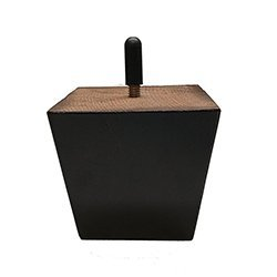 BingLTD - 3' Coffee Square Tapered Hardwood Sofa Legs - Set of 4 (ST3253-021)