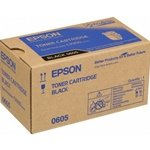 Epson Aculaser C 9300 D 2 TN - Original Epson C13S050605 / 0605 - Black Toner Cartridge - 6500 pages