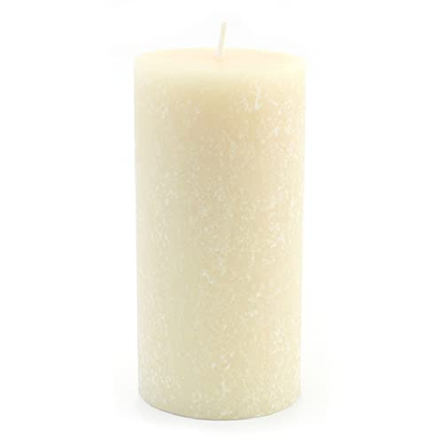 Root Candles Unscented Timberline Pillar Candle , 3 x 6-Inches, Buttercream
