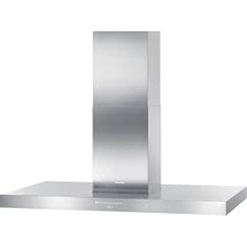 Campana extractora decorativa modelo DA 424 V-6 EDST Puristic Varia con iluminación LED de bajo consumo y teclas, color gris, 70 x 120 x 70 centímetros (referencia: Miele 28424655IB)