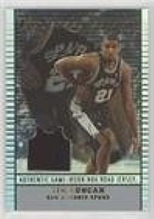 Tim Duncan (Basketball Card) 2002-03 Topps Jersey Edition - [Base] #je TD