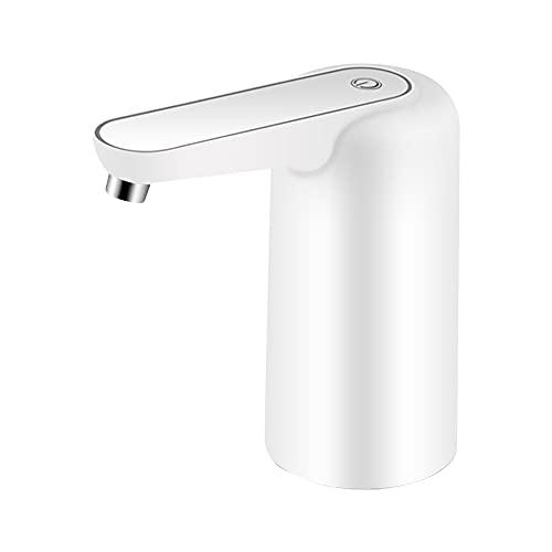 Bomba de agua eléctrica Dispensador de agua automático Mini botella Aspirador de agua de carga USB portátil para el hogar Cocina Oficina