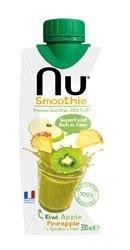 pas cher un bon Jus – Smoothie – Fabriqué en France – Nu Smoothie Mixed Juice – Boisson – Kiwi-Pomme-Ananas – 1 x 330 ml
