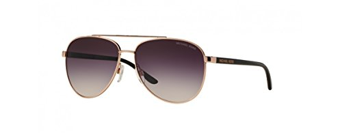 Michael Kors Hvar Sunglasses MK5007 Rose Gold/Grey-Rose Gradient 1099/36 59mm, Rose Gold / Grey-rose Gradient, 59mm (Medium)