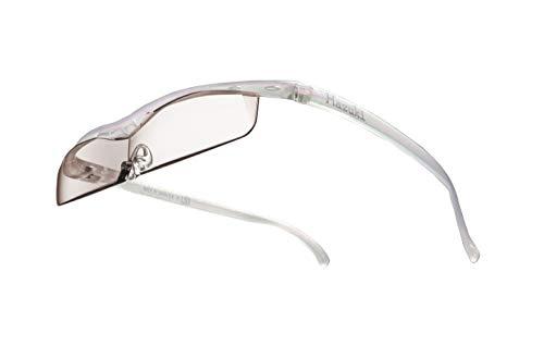 Hazuki ハズキルーペ 直営店 公式店 限定 倍率交換保証付き クール 1.32倍 カラーレンズ パール ハズキ 拡大鏡 ルーペ メガネ型 眼鏡型 めがね型 メガネ 眼鏡 めがね 日本製 MADE IN JAPAN ギフト