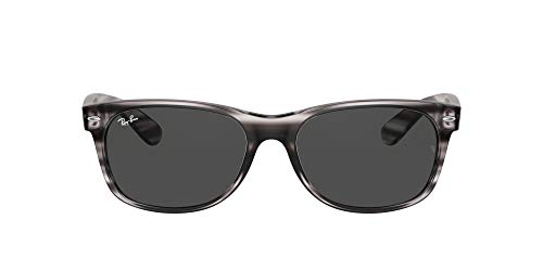 Ray-Ban 0RB2132 Gafas, STRIPED GREY HAVANA, 52 Unisex