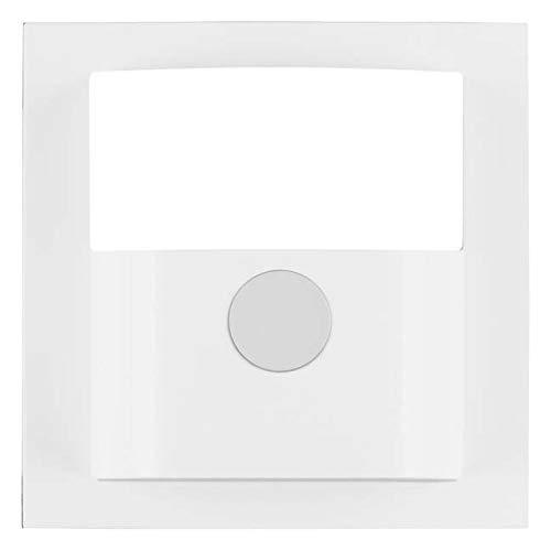 Hager 11908989–Deckel Rauchmelder Bewegung, S/B, weiß Polar glänzend