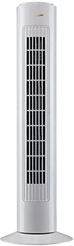 Ventilador columna 29', color blanco