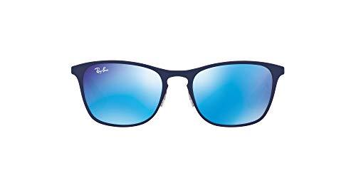 Ray-Ban JUNIOR 9539s Gafas de sol, Rubber Blue/Red, 48...