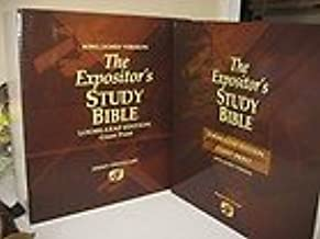 The Expositor's Study Bible - Loose-leaf Edition By Jimmy Swaggart (2007, Hardcover) (Loose Lead Edition - Giant Print)