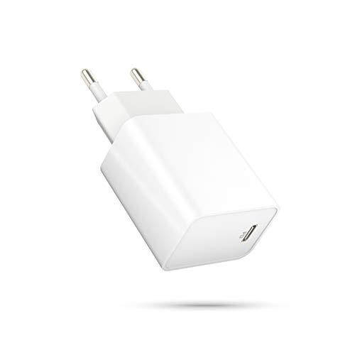 Supoggy 20W Cargador iPhone Rápido/Cargador USB C Power Delivery 3.0/Cargador para iPhone 12 12 Pro 12 Mini 12 Pro MAX Se 2021 X XS MAX 8 iPad Pro Airpods MAX, para Samsung S10 S9 Xiaomi Redmi