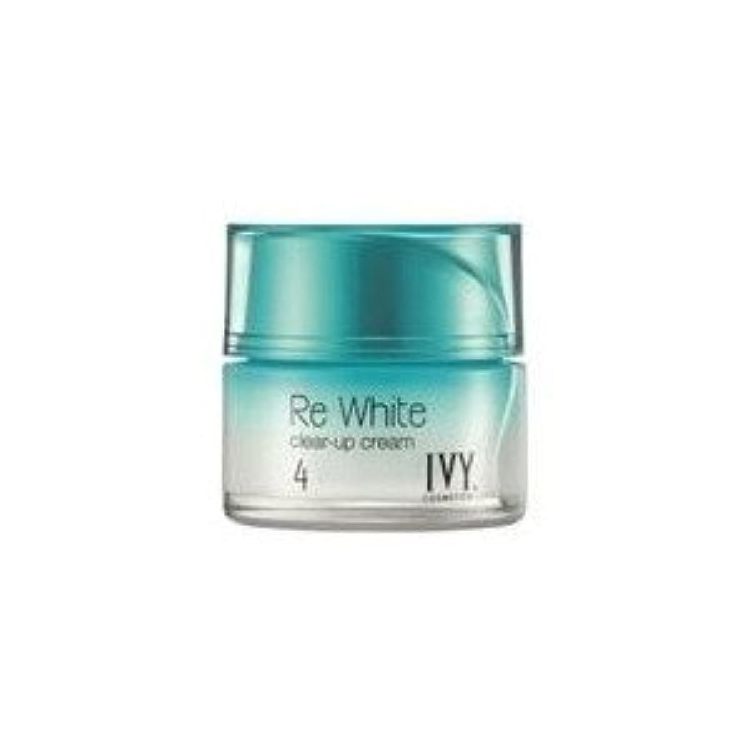 有効なウール年齢アイビー化粧品 リ ホワイト クリアアップ クリーム  (乳液 ? クリーム) 30g