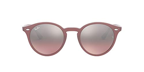Ray-Ban Unisex RB2180 Sonnenbrille, Rosa (Gestell: rosa, Gläser: rosa, Silber verspiegelt 6229/7E), Medium (Herstellergröße: 49)