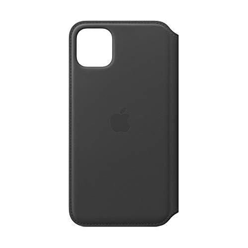Apple Custodia Folio in Pelle (per iPhone 11 Pro Max) - Nero