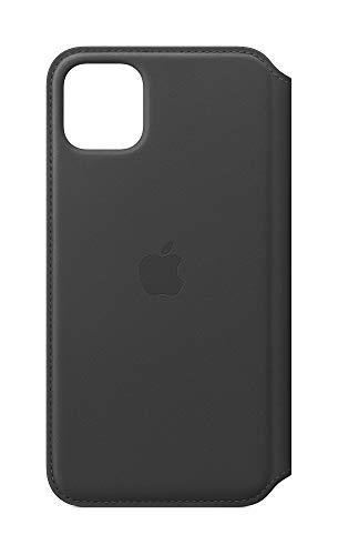 Apple Leather Folio (for iPhone 11 Pro Max) - Black