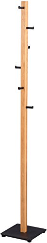 HomeTrends4You Bari Kleiderständer, Holz, wildeiche, 28x182x28cm