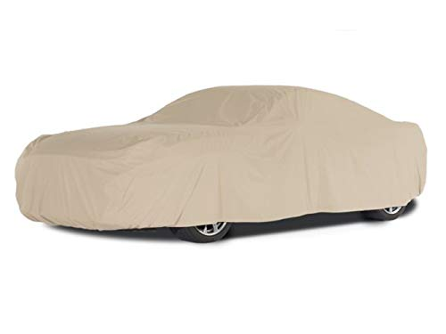 Covermates Outdoor Car Covers - Weathertite Prime Polyester - Weatherproof and Durable - Khaki