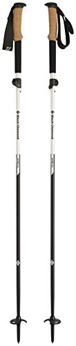 Black Diamond Alpine FLZ Trekking Poles Pearl Black 120-140