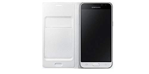 """Samsung Galaxy J1 (2016) - Funda Samsung Wallet Flip Cover EF-WJ120PWEGWW - Color Blanco (Funda 11,4 cm (4.5""""), Blanco)"""