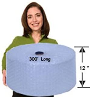 EcoBox Bubble Cushion Wrap 12-Inch Wide x 300-Feet Long, with 3/16-Inch Small Bubbles (E-2392)