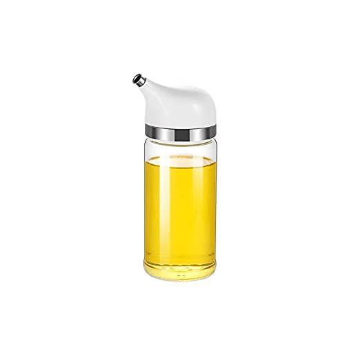 Hanpiyigyh Aceitera, Botella de Vidrio Elegante y Aceite de Oliva sin Goteo y dispensador de vinagre Tamaño: 15 * 5 cm