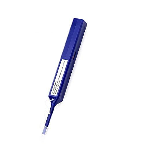 Fibra óptica Cleaner Limpiador de Fibra óptica Conector Extremo del Adaptador Limpieza de la Cara de la Pluma de 1,25 mm LC/MU Herramientas de Mano Accesorios