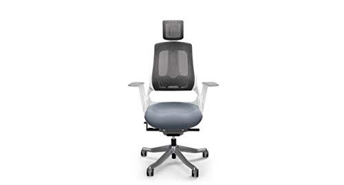 UPLIFT Desk - Pursuit Ergonomic Chair (White)
