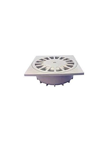 WOLFPACK LINEA PROFESIONAL 4110165 Sumidero Sifónico PVC T-88 10x10 50-40, 13