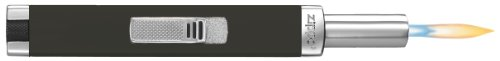 Zippo Mini MPL | Black Matte Gasfeuerzeug, Messing