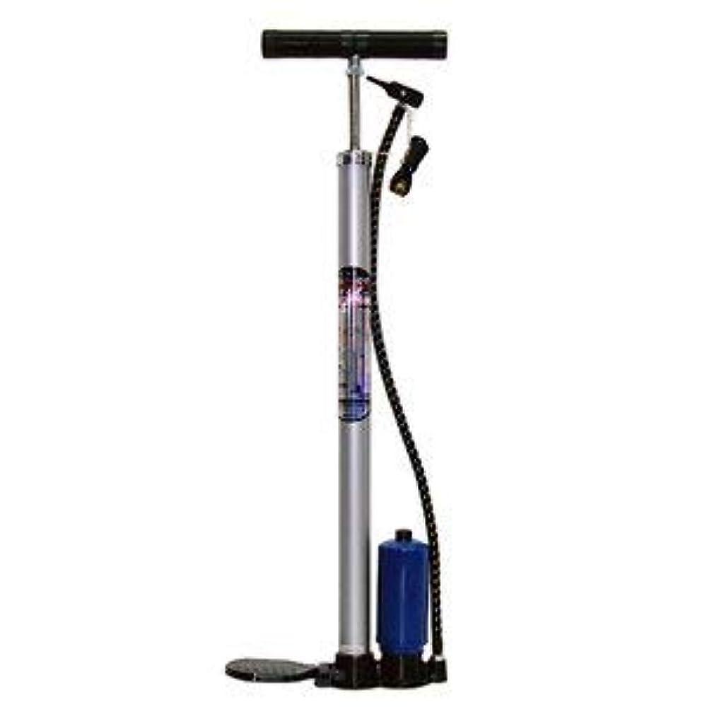 唯一レンダリング退化する高圧タンク付フロアポンプ 自転車用空気入れ