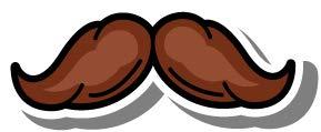 Oedim Pack 5 Pegatinas Bigote con Sombra Gris   10 x 4 cm   Adhesivo de Fácil Colocación   Pegatina para Coche Económica y Resistente