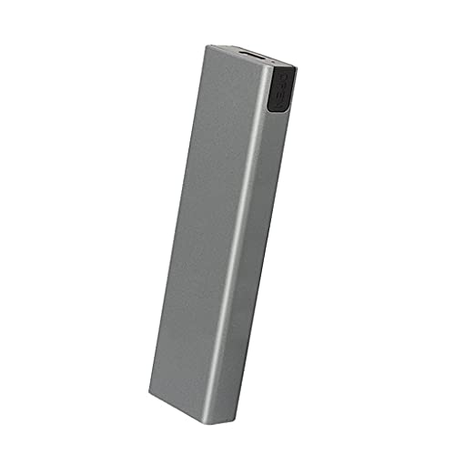 DROHOO USB 3.1 a M.2 NVME PCIe SSD Carcasa NVME M-Key a Type C Carcasa adaptadora para nvme SSD USB3.1 a M.2 SATA SSD Disk Case