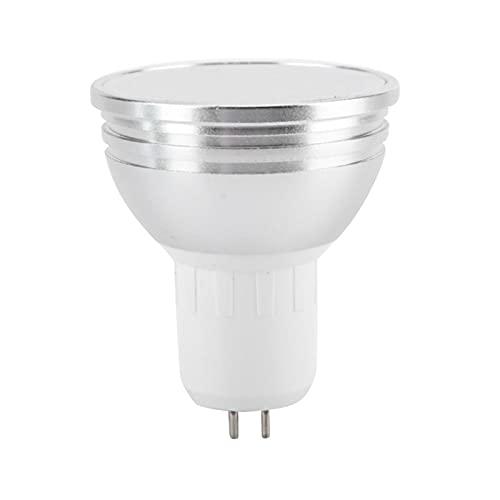 EVTSCAN Bombilla LED Wi-Fi, AC85V-265V E27/GU10/GU5.3 Bombilla de luz LED RGB + CW de 6W Bombillas de...