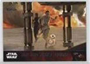 Storyline - Rey and Finn's escape (Trading Card) 2016 Topps Star Wars: Limited Edition - The Force Awakens Series 1 #90
