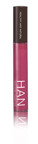 HAN Skincare Cosmetics All Natural Lip Gloss, Raspberry Chardonnay