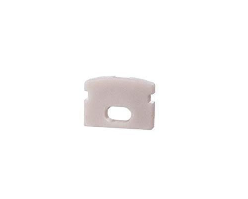 reprofil Accessoires pour profil LED F Lot de 2 au de 01–05 Embout, blanc 978660
