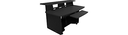 Omnirax Presto 4 Studio Desk Black