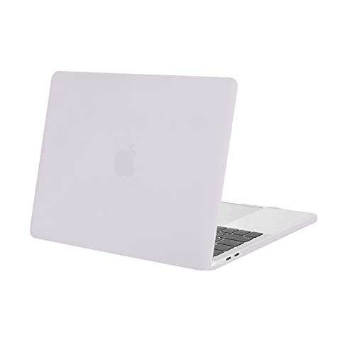 MOSISO MacBook Pro 13 inch Case 2020 2019 2018 2017 2016 A2338 M1 A2289 A2251 A2159 A1989 A1706 A1708, Plastic Hard Shell Case Compatible with MacBook Pro 13 inch with/Without Touch Bar, Rock Gray
