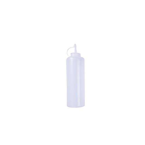 qiyifang Squeeze Bottle,Plastic Economy Natural Squeeze Condiment Water Bottle Dispensers For Sauce, Ketchup, BBQ, Dressing,Paint And More