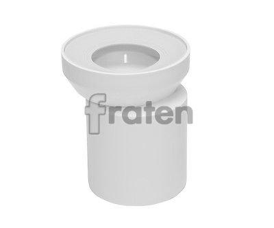 WC Exzenterstutzen WC-Abfluß weiß außermittig