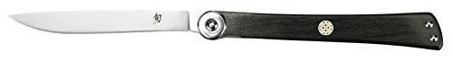 Shun Higo Nokami Personal Folding Stainless-Steel Steak Knife